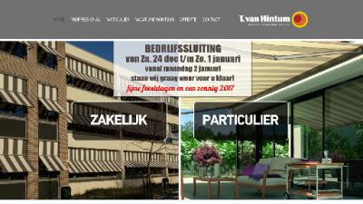 logo Hintum Rolluiken & Zonweringspecialist Van