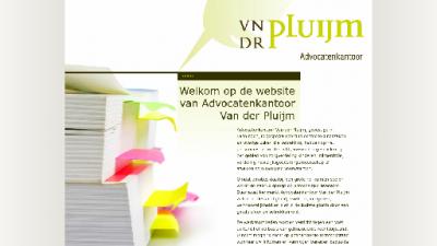 logo Advocatenkantoor  Van der Pluijm