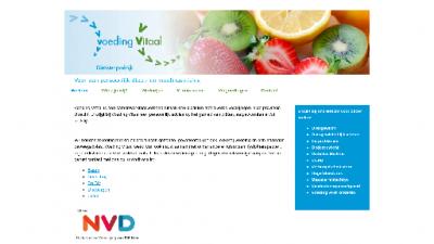 logo Diëtistenpraktijk  Voeding Vitaal
