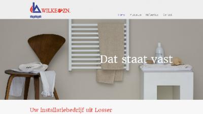 logo Wilke & Zn Loodgieters - en Centrale Verwarmingsbedrijf Fa