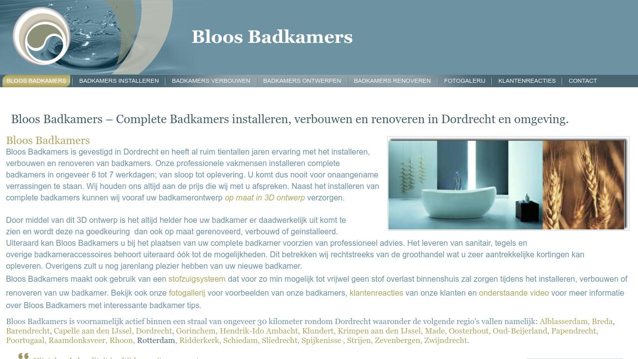 Best Bloos Badkamers fotos - Woonkamer ideeën & Huis inrichten ...