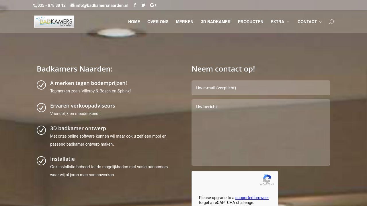 Badkamers Naarden: klantervaringen & recensies