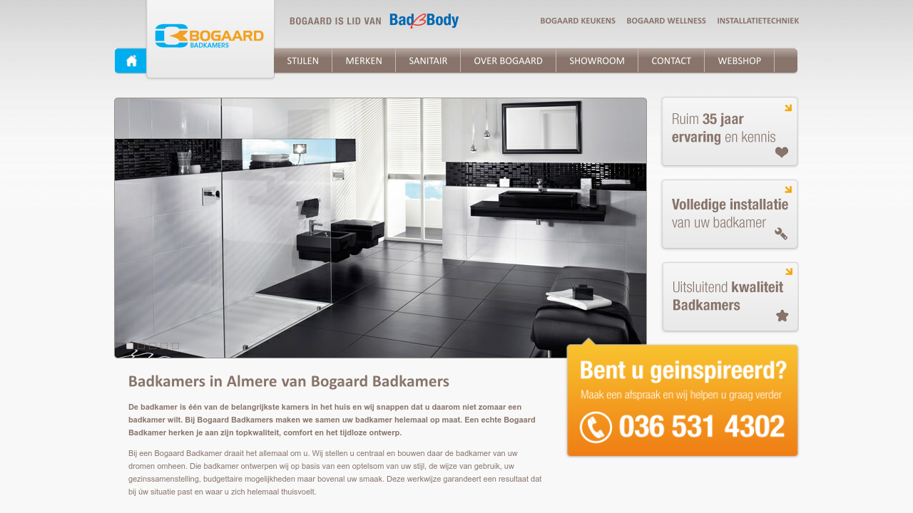 Beautiful Boogaard Badkamers Almere Contemporary - Globexusa.us ...
