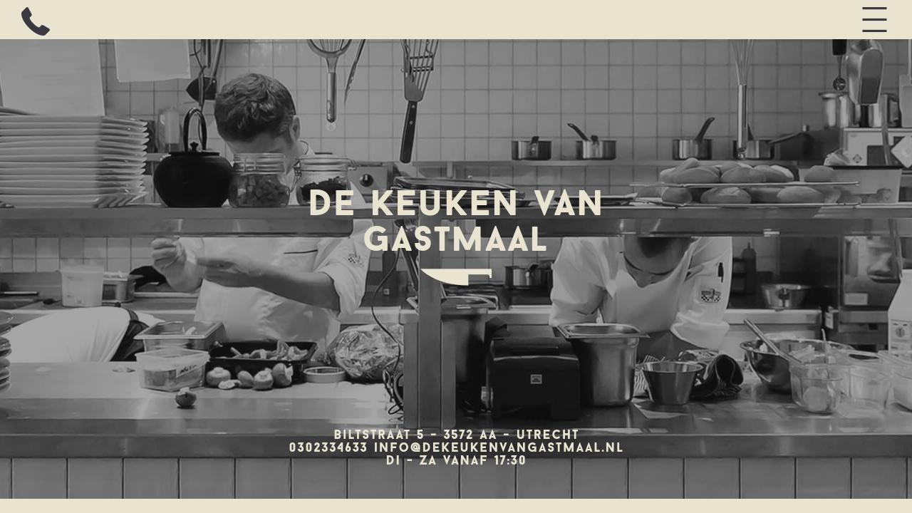 Keuken Van Gastmaal : De keuken van gastmaal topspots