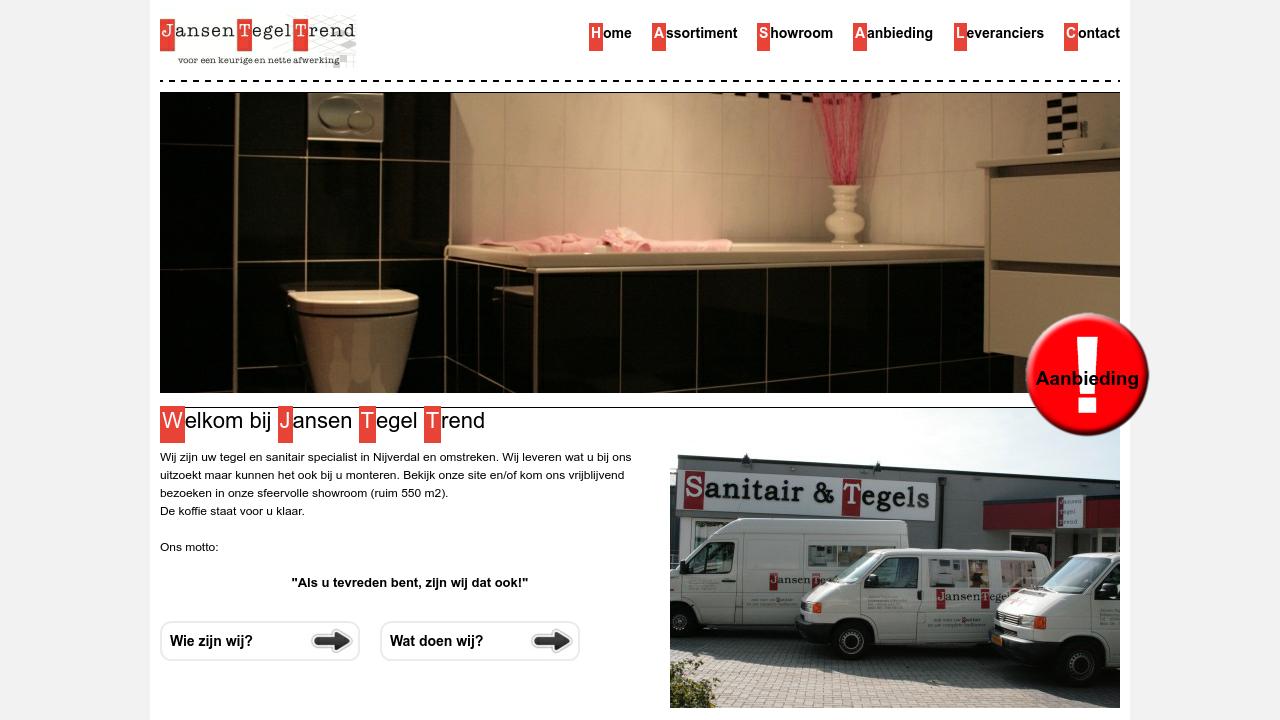 Jansen Tegels Nijverdal : Jansen tegeltrend klantervaringen recensies
